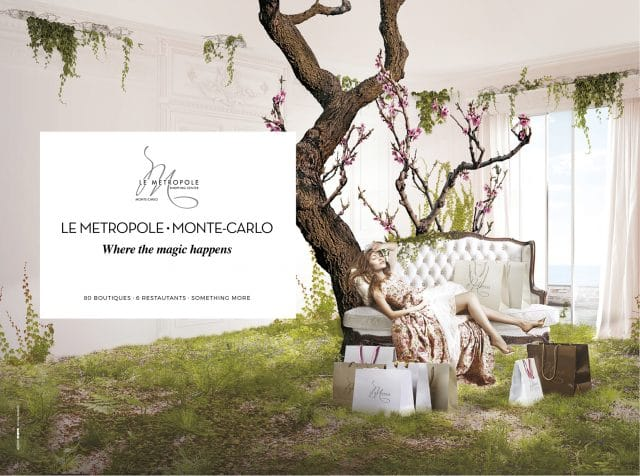 Campagne Princesses Metropole Shopping Center par l'Agence Shops