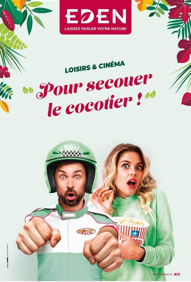 Campagne Loisirs et Cinéma Eden Servon Agence Shops