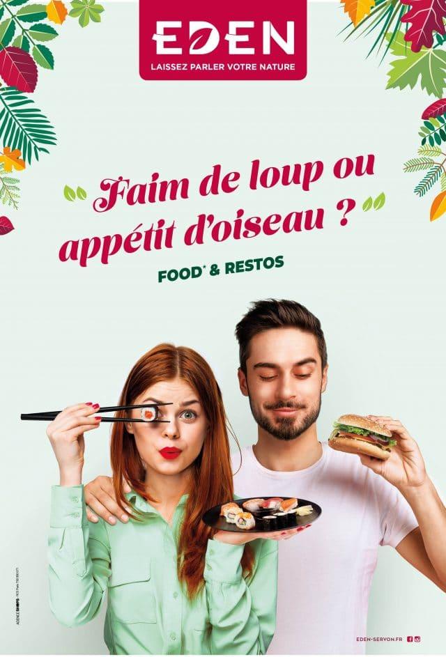 Campagne Restaurants Eden Apsys Agence Shops