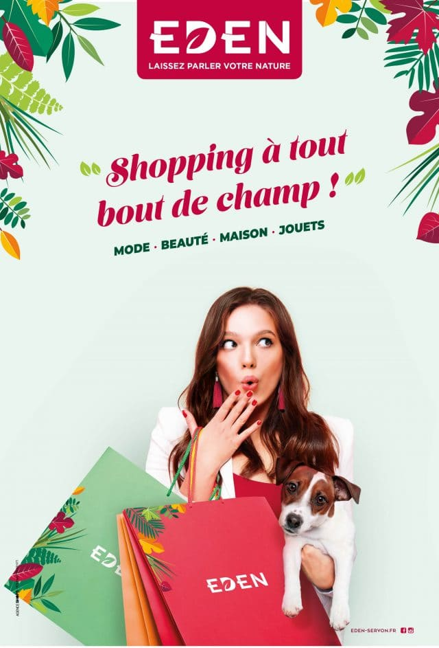 Campagne Shopping Eden Apsys Agence Shops