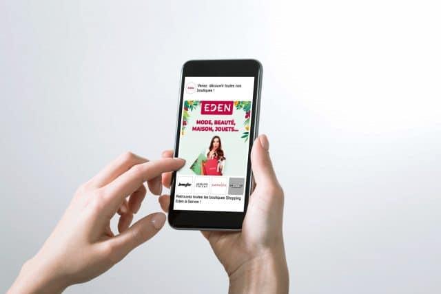 Campagne Digitale Eden Apsys Agence Shops