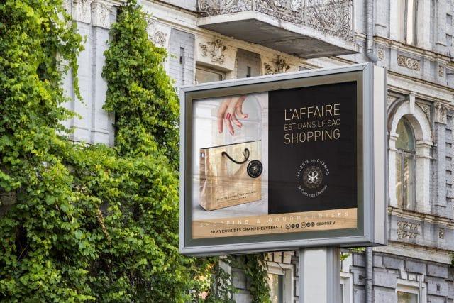 Campagne publicité galerie des champs agence shops