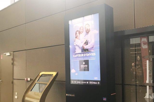 centre commercial campagne générique par l'agence shops