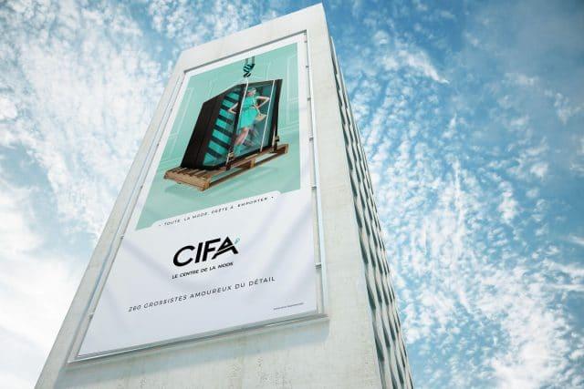 Communication événementielle CIFA - Shops