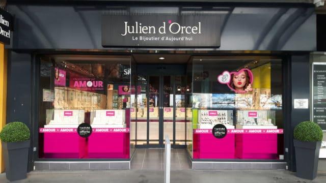 Vitrine Julien d'Orcel